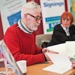John Byrne signing  