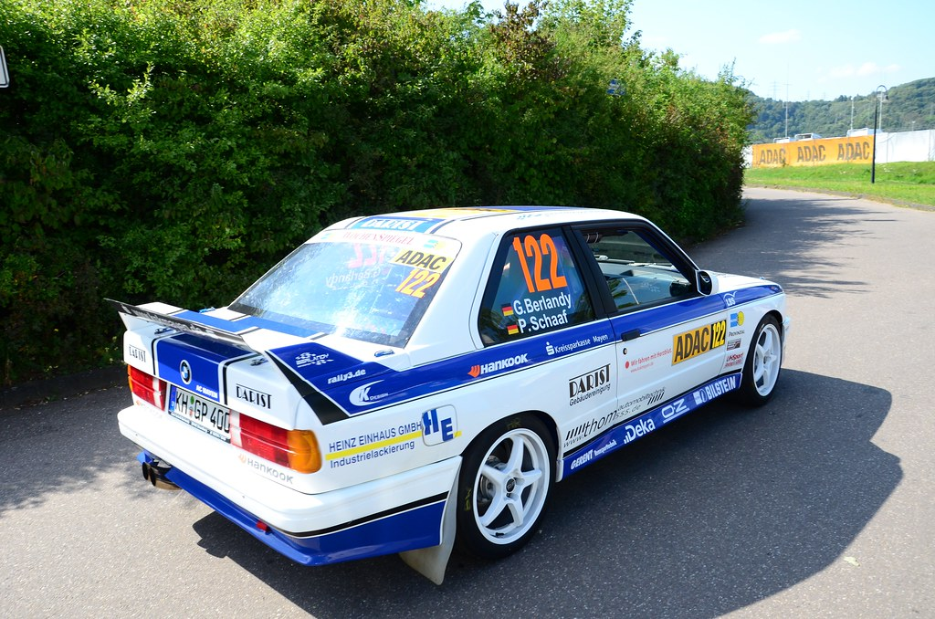Bmw E30 M3 Rally Car Peter Guagenti Flickr