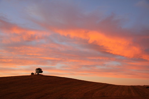 pink blue sunset orange night clouds rural canon eos countryside twilight cloudy dusk country 7d fiery canon7d