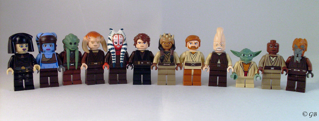 Jedi Council 18 The 12 Members Of The Jedi Council I Am Flickr