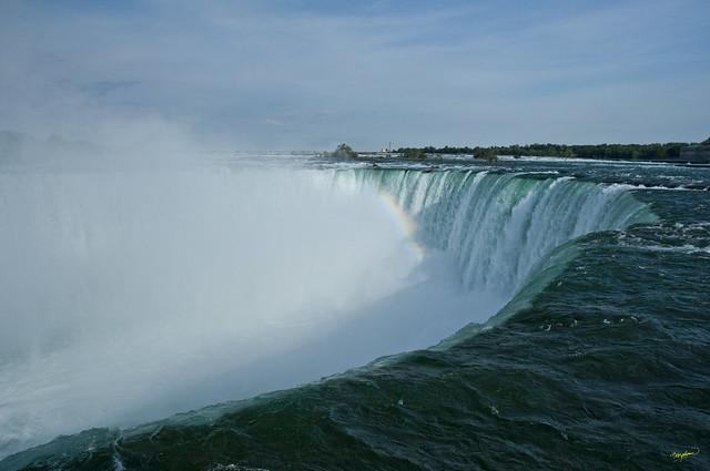 Niagara Falls -  Rainbow over Horseshoe Falls
