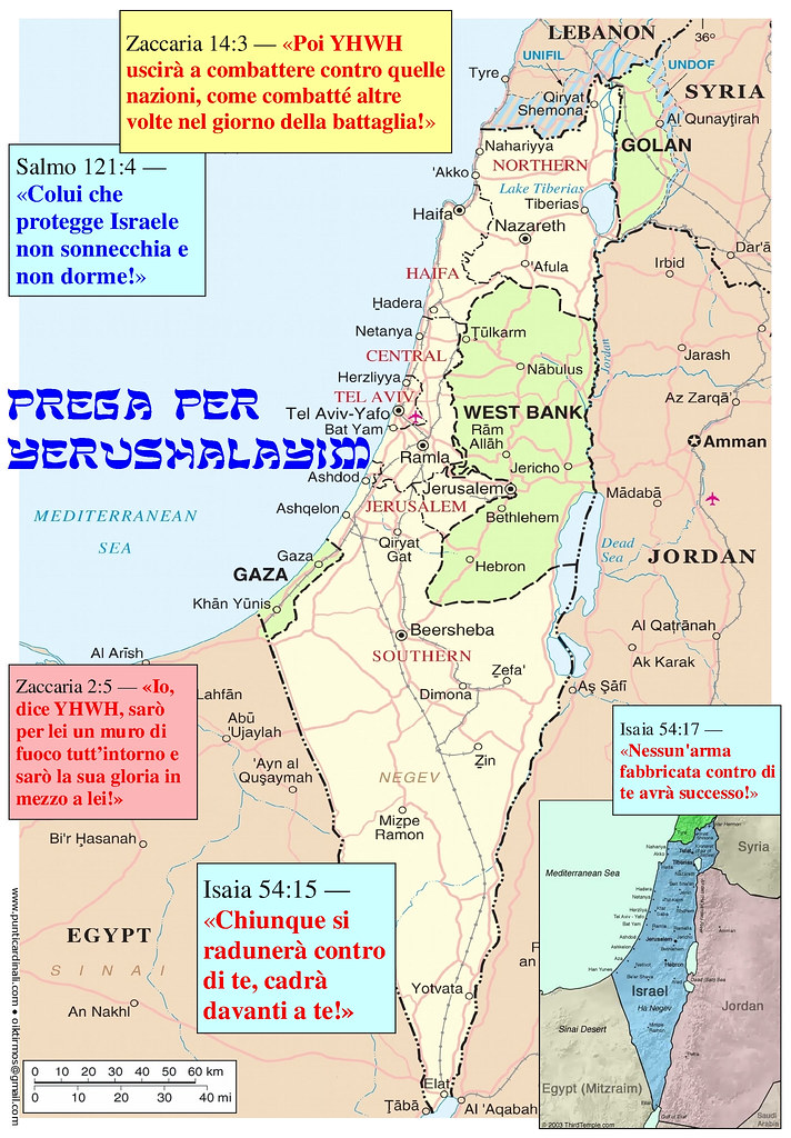 Cartina Israele.Cartina Di Preghiera Per Gerusalemme Israele Cartina Geog Flickr