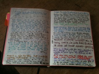 Allan's journal with writing samples | by redspotted