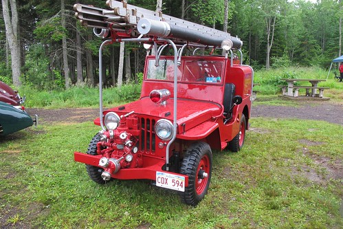 1947 Willys Jeep fire truck | by JarvisEye