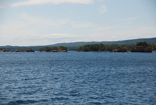Departing from Rock Harbor, Isle Royale National Park   by Corvair Owner