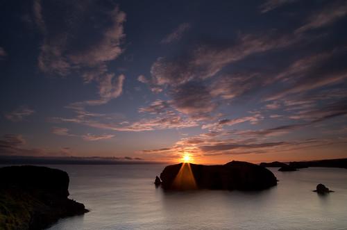 sea sun sunrise silhouettes surface explore amanecer llanes marcantábrico pentaxk5