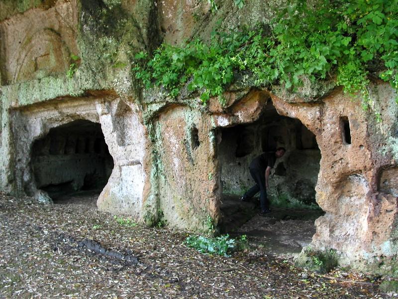 "Sutri Italy ""Etruscan Necropolis"""