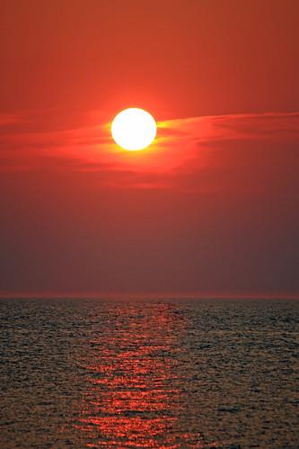 ocean city beach sunrise maryland