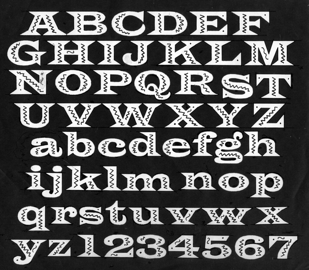 Latin Wide (Mexican) | Latin Wide typeface adapted for the