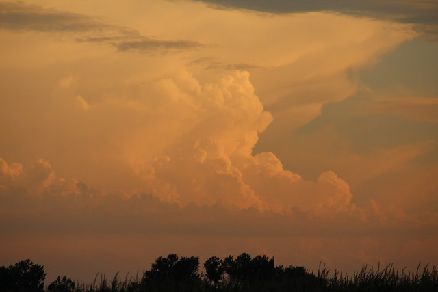 081911 - Building Supercell in North Central Kansas