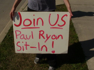 Paul Ryan Sit In Day 4 pic016   by WisconsinJobsNow