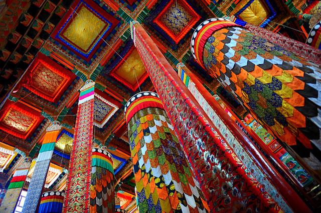 Victory banner རྒྱལ་མཚན་ gyemtsen, Tibet