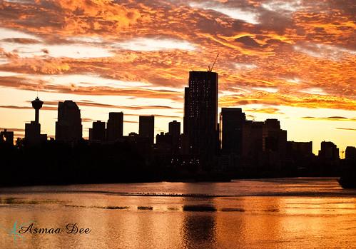 Calgary Sunset shot 2