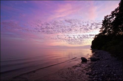sunset ontario lakeontario cobourg lucaspoint