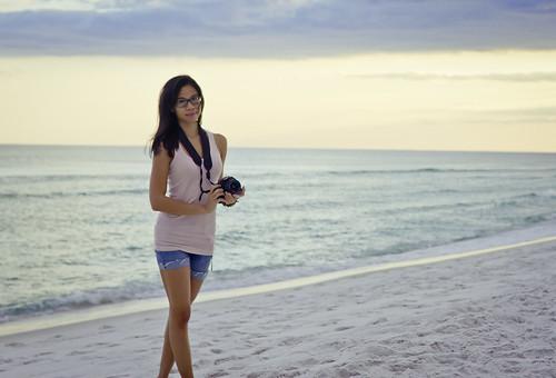 camera pink blue sunset beach girl clouds canon mexico rebel 50mm sand kiss gulf florida f14 tan lips jeans 7d strap wife shorts fl pinay filipina 50 blackhair ef blackgirl pensacola xsi beater reduce deepen simplify glases serf pcola 3rdcoast ef50mm phtotography asiangirlgirls memorycornerportraits 2likru spamda rsdphoto rsdphotography