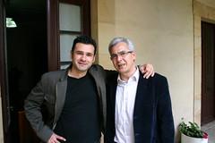 Carlos Totorika e Iñaki Lopez