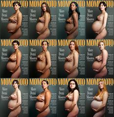 Vanity Fair Pregnancy Cover - Demi Moore