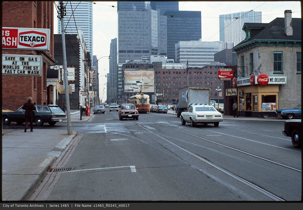 Texaco gas station, King and John Streets | Photographer: Ci… | Flickr