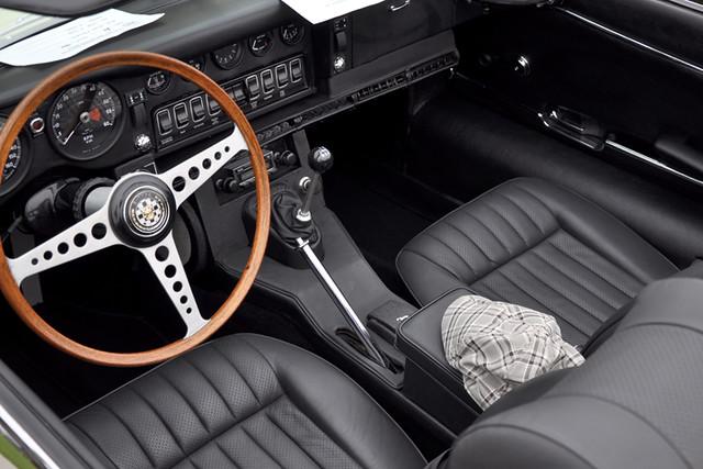 E-Type interior