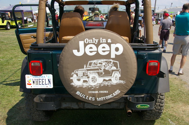 Jeep Wrangler - YJ - License Plate