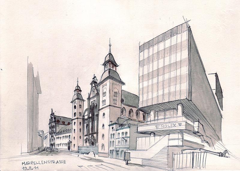 Cologne, Marzellenstraße