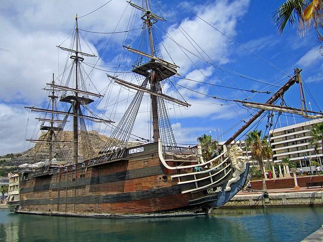 Alicante / Spain / Segelboot