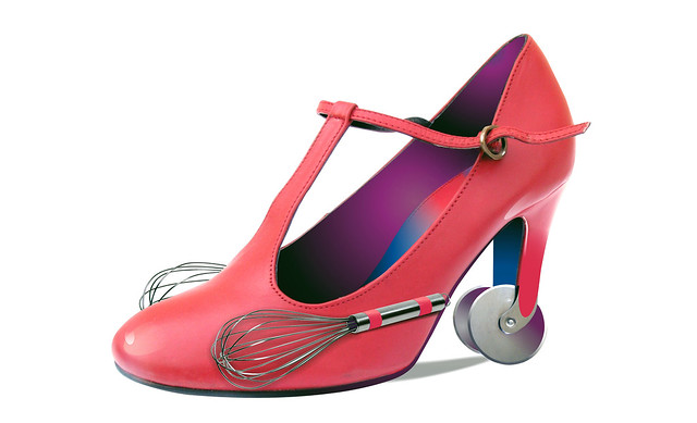 Shoe for use in the kitchen