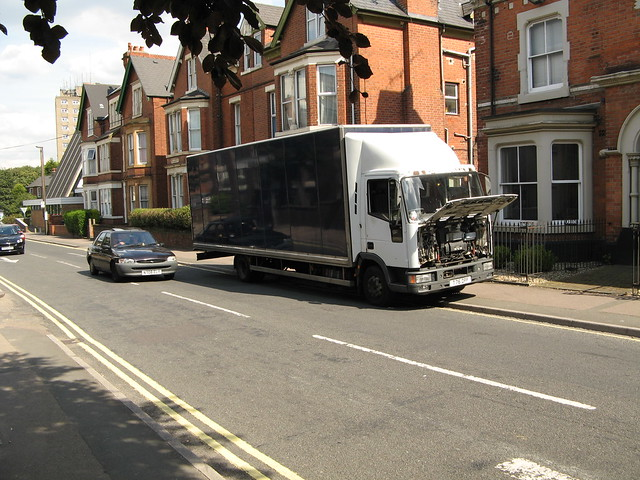 A very special lorry