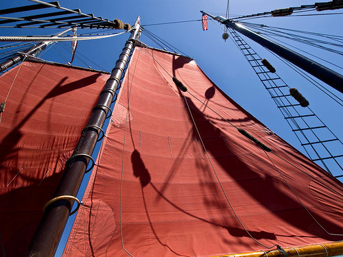 Aboard the Tallship American Pride | by Celeste M (more off than on)