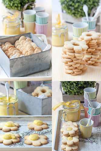 Gluten free biscuits with lemon curd | by Ann@74