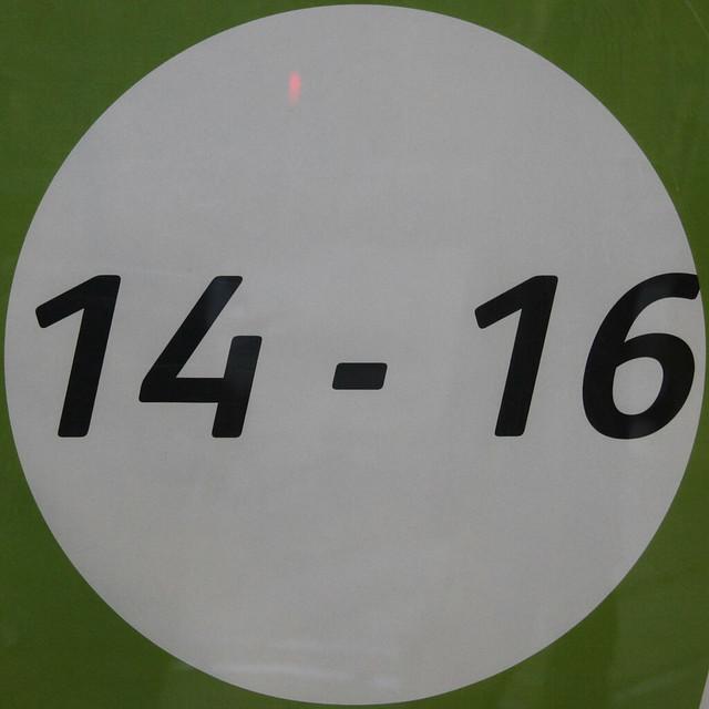 14 - 16