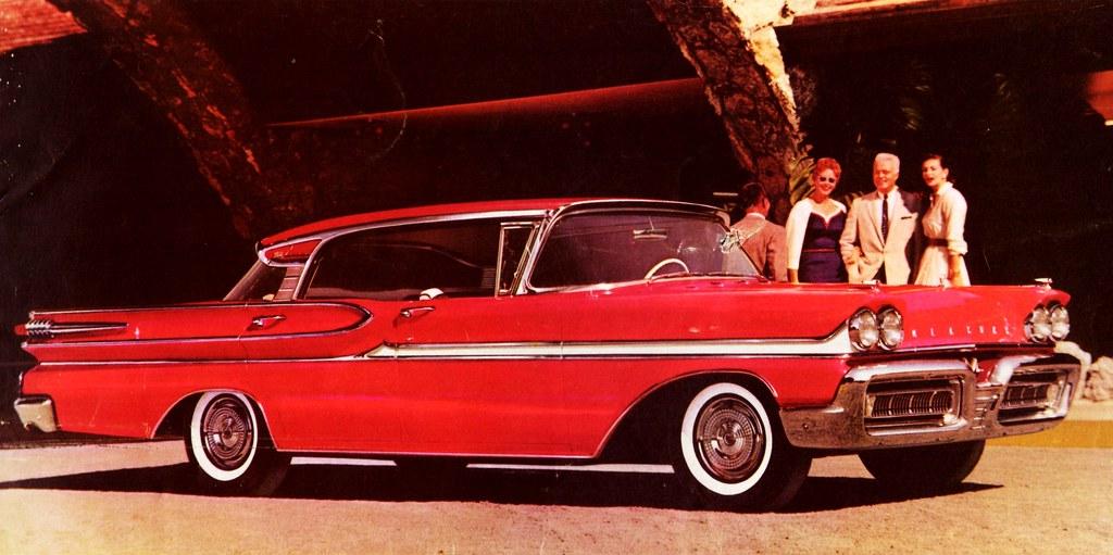 #pha.005071 Photo MERCURY PARK LANE 4-DOOR PHAETON HARDTOP 1959 Car Auto