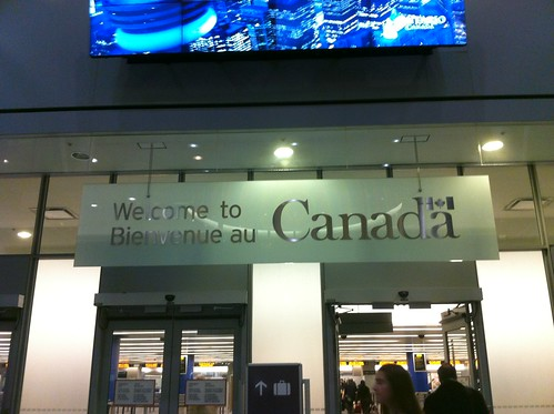 Welcome to Canada Sign, Toronto Pearson Int'l Airport | by Cohen.Canada