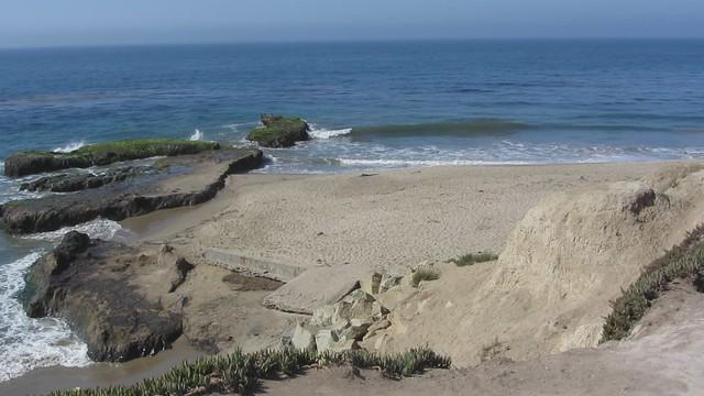MVI_4205 ucsb campus pt rocks waves surfers goleta beach