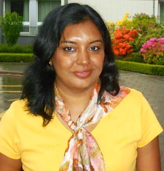 A lady is yellow (India)