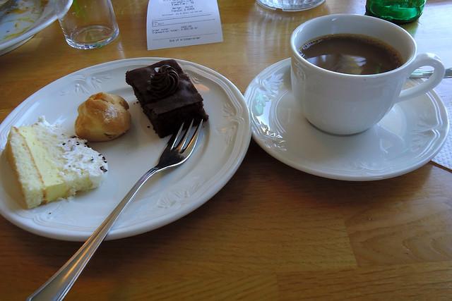 Lunch buffet at Hotel Geysir