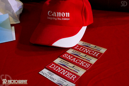 Free FOOD by CANON
