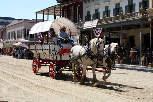 Covered Wagon, Gold Rush Days 2011