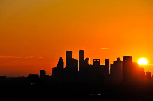 nature sunrise nikon downtown houston clear nikond300s