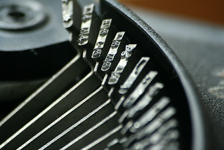 typewriter close-up | by bob the lomond