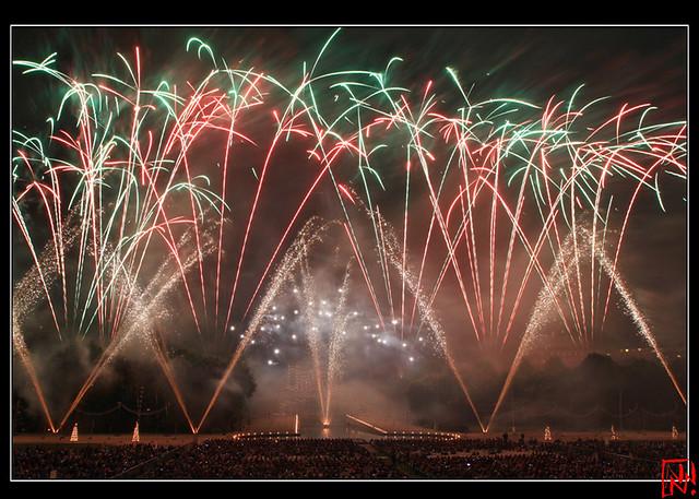 Le plus grand feu d'artifice d'Europe.... (11/11)