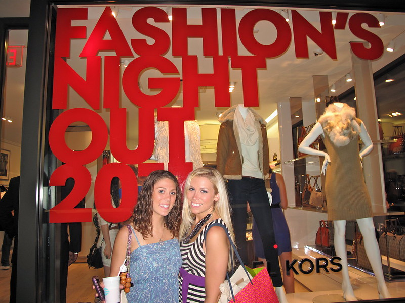 Fashions Night Out 2011 | A Look Back at 10 Years of Blogging Living After Midnite Blogger Jackie Giardina