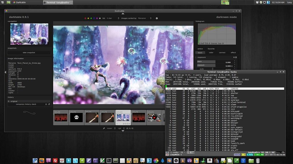Desktop XFCE Linux Mint Debian Edition | My Linux Mint Debia
