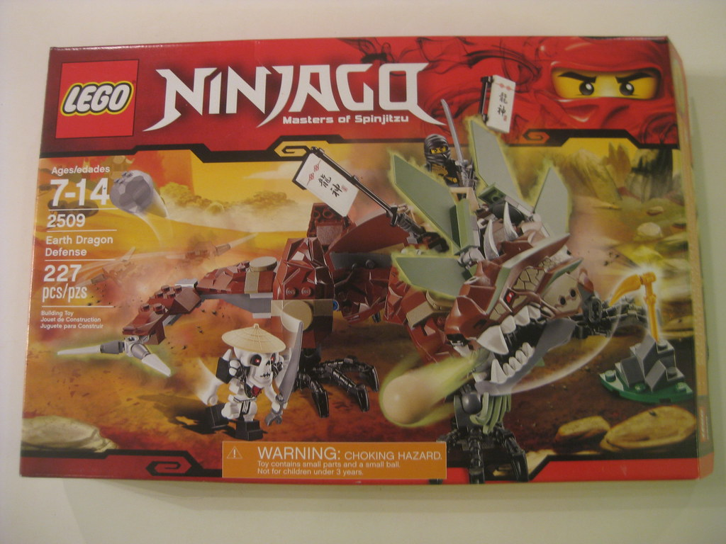 LEGO Ninjago Earth Dragon Defence 2509