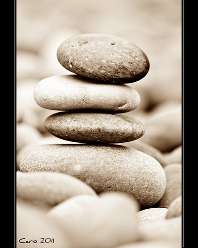 beach stones stack dorset duotone jurassic chesil canon60d happione