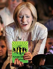 J.K. Rowling is distraught after discovering that her latest Harry Potter book has slipped to second place in the bestseller list..
