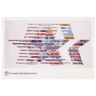 Los Angeles 1984 Olympic poster