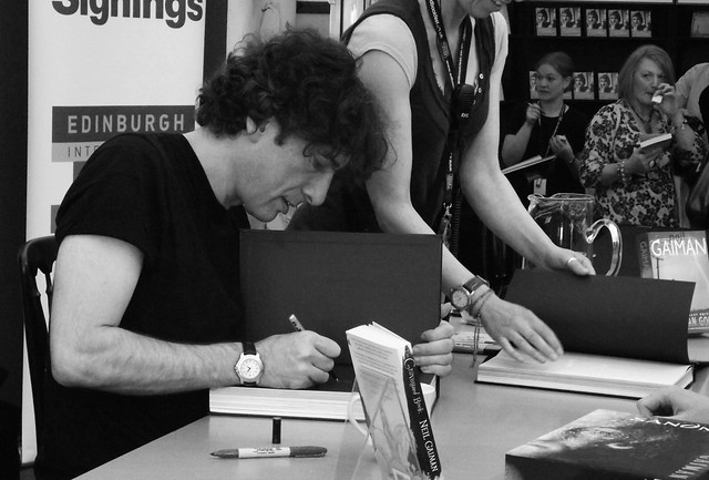 Edinburgh International Book Festival - Neil Gaiman 06