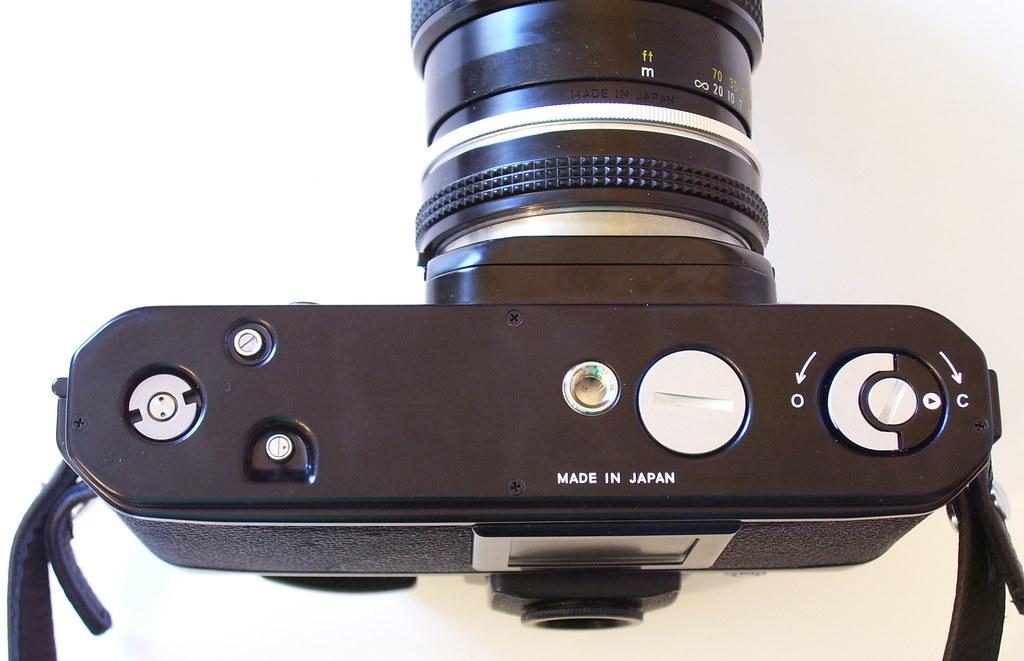 Vintage Nikon Film SLR, the pro-grade F2A (bottom view) | Flickr