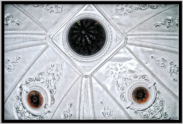 St. Clairsville OH ~ Belmont County Courthouse ~  Dome Ceiling ~ Film 90's